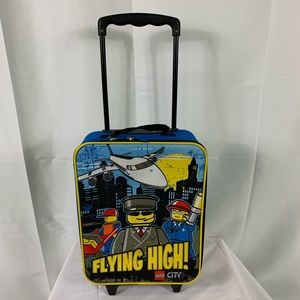 LEGO Flying High Kids Rolling Carry On Suitcases